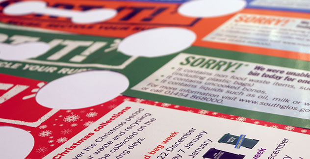 Digital printing leaflets and flyers